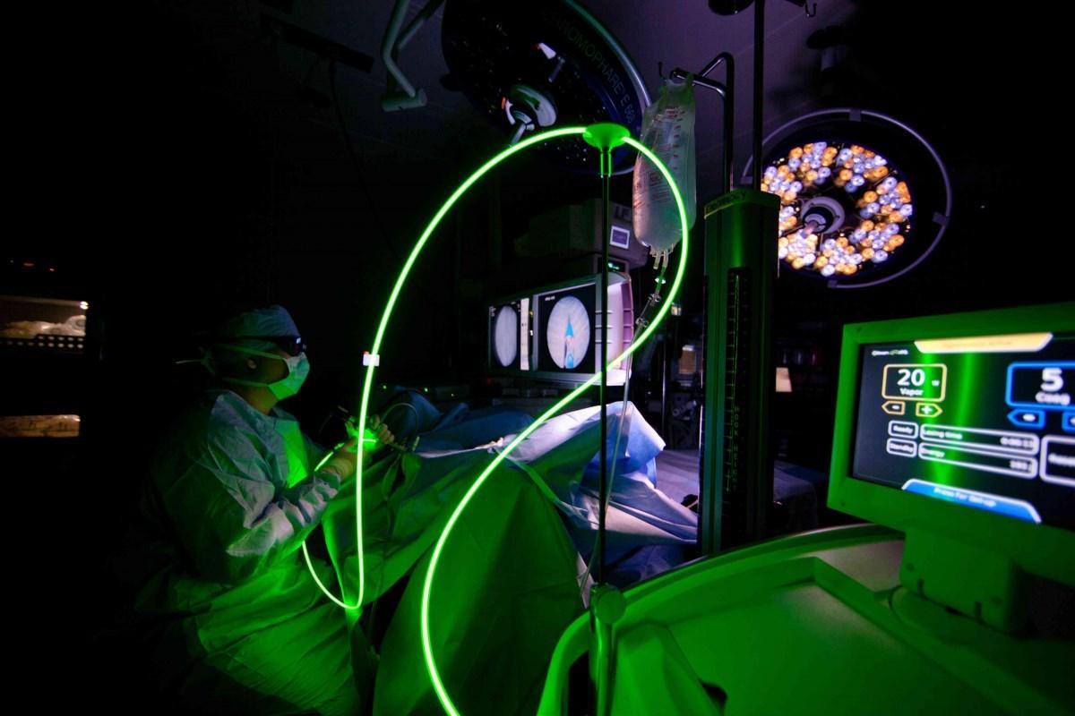 Лазер простатите все о простатите у мужчин лечение